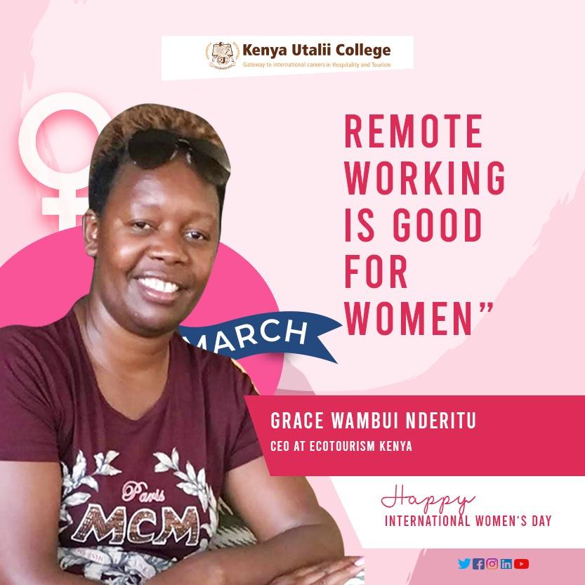 Ms. Grace Nderitu - CEO at Ecotourism Kenya