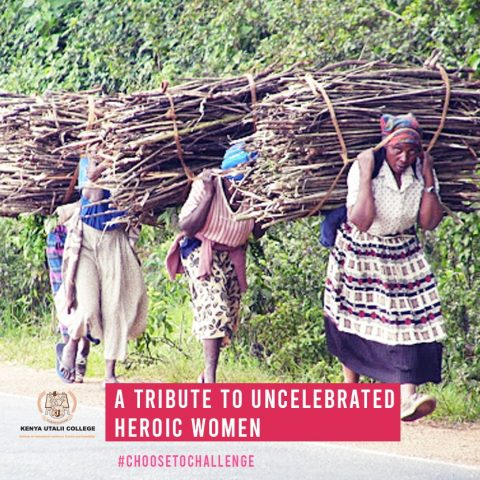 A tribute to uncelebrated heroic women by Kenya Utalii College