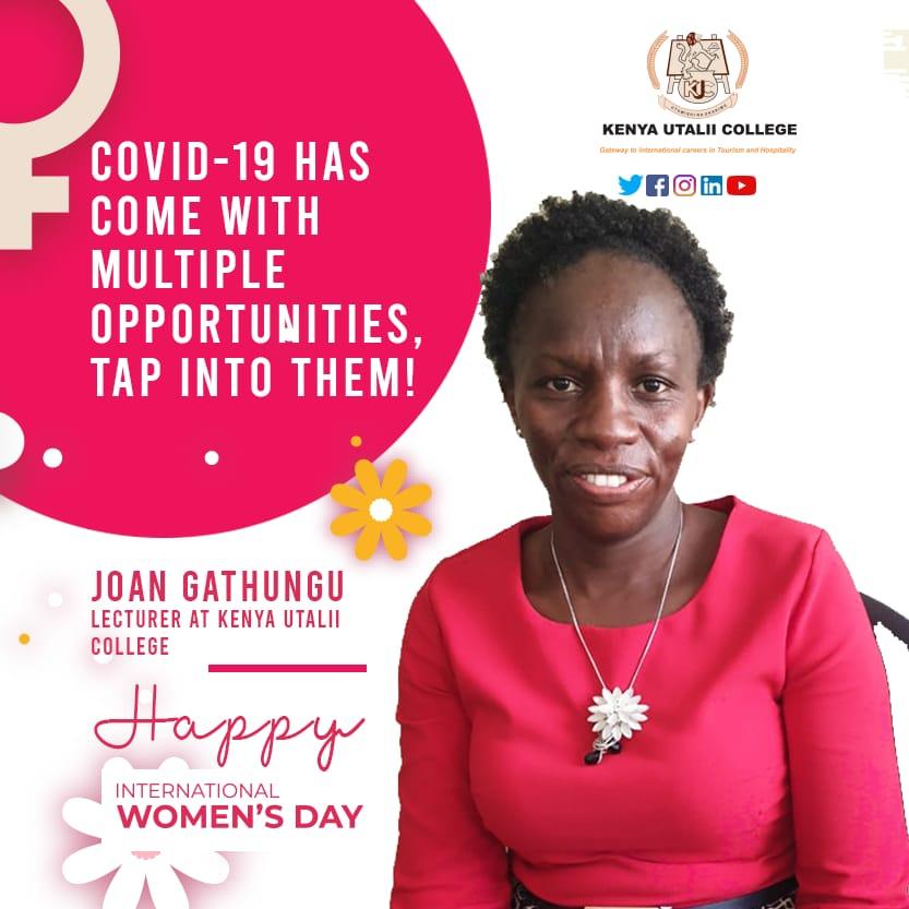 Joan Gathungu - Lecturer at Kenya Utalii College