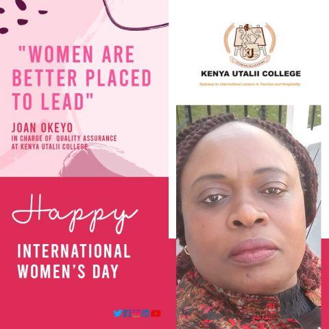 Joan Okeyo - Kenya Utalii College