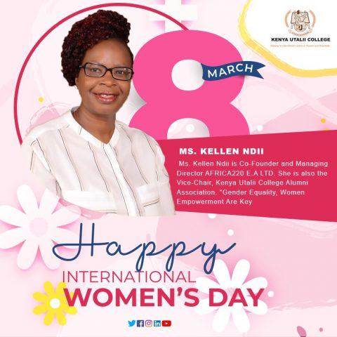 Kellen Ndii - Alumni Kenya Utalii College
