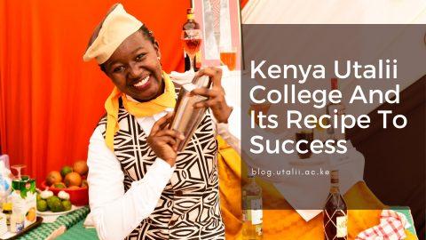 Kenya Utalii College Food & Beverage Service Student
