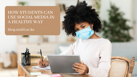 How students can use social media in a healthy way