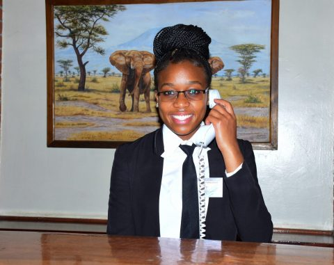 Kenya Utalii College - Front Office Student